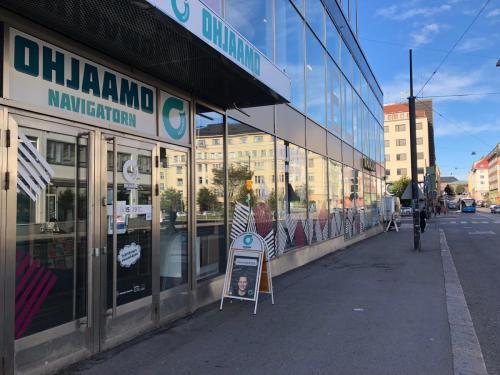 Ohjaamo Helsinki ulkoa